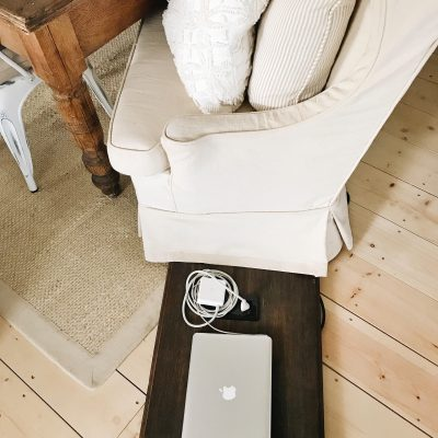 Hideaway Laptop Tray and Giveaway