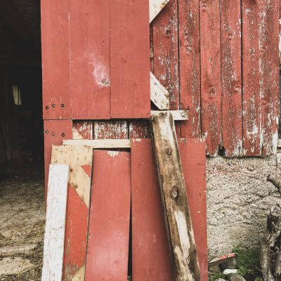 Barn Door Repair, a sign from Grace