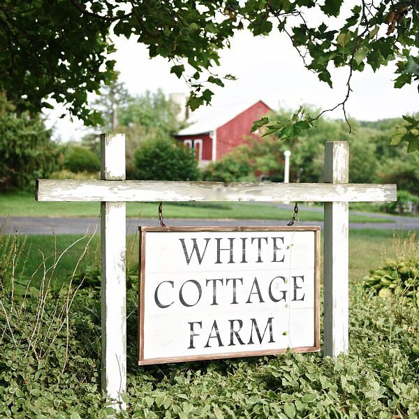 the white cottage farm