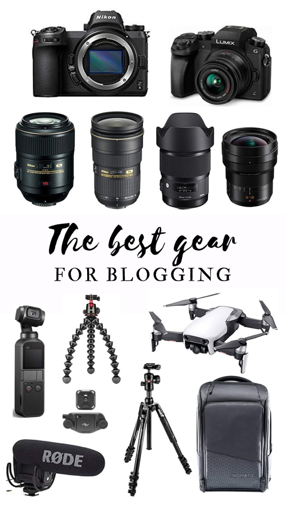 The Best Gear for Blogging